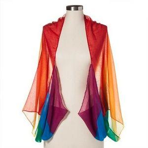 Merona Pride Shawl one size